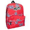 Red patterned backpack vans, red , 969-5093 - 13