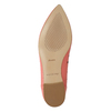 Pointed leather ballet pumps bata, 524-0604 - 19