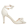 Ladies' sandals with bow insolia, white , 769-1614 - 15