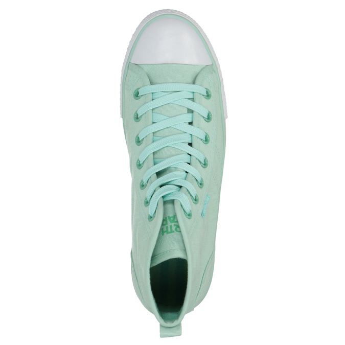 Menthol ankle sneakers north-star, turquoise, 589-7442 - 19