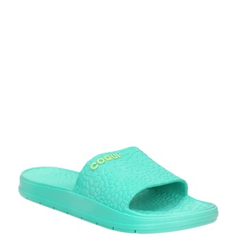 Ladies' textured slip-ons coqui, turquoise, 572-7609 - 13