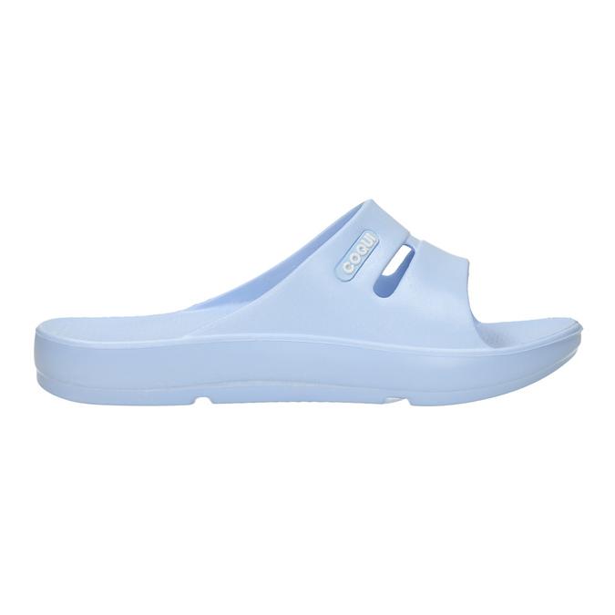 Ladies' blue slip-ons coqui, blue , 572-9608 - 15