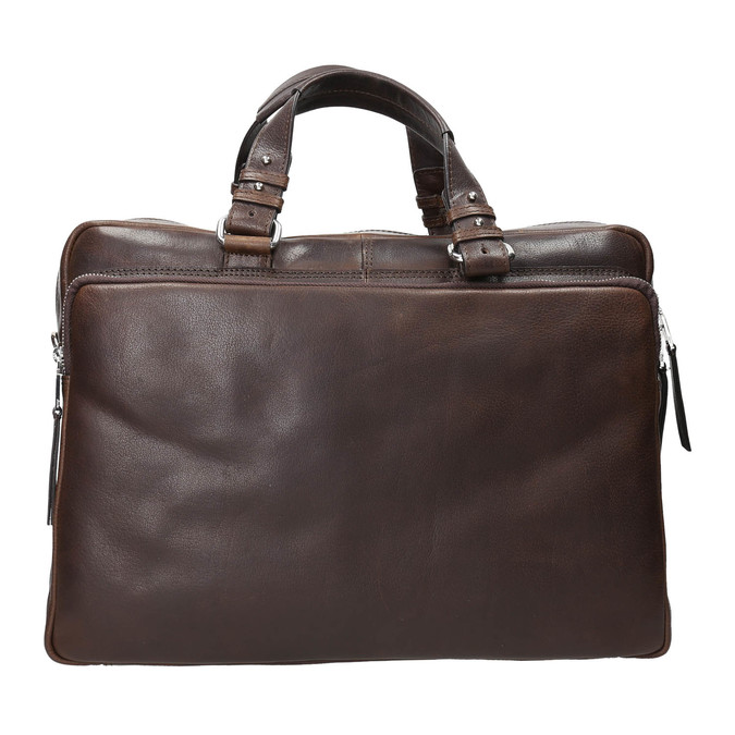 The Seymur Briefcase Bag, brown , 964-4106 - 17