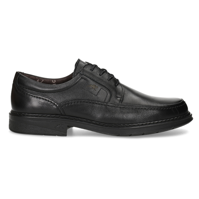 Men's leather dress shoes fluchos, black , 824-6448 - 19