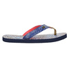 Ladies' flip-flops with denim straps north-star, blue , 579-9617 - 15