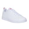 Kids' white sneakers adidas, white , 401-5133 - 13