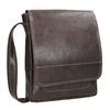 Men's leather bag bata, brown , 964-4283 - 13