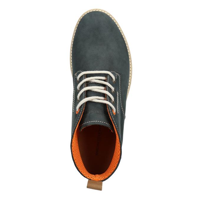 Men´s leather chukka boots weinbrenner, blue , 846-9629 - 15