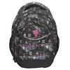 School backpack with print bagmaster, black , 969-6650 - 26