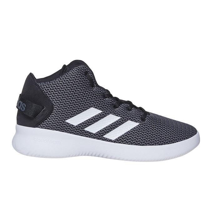 Men's high-top sneakers adidas, gray , 809-6216 - 15
