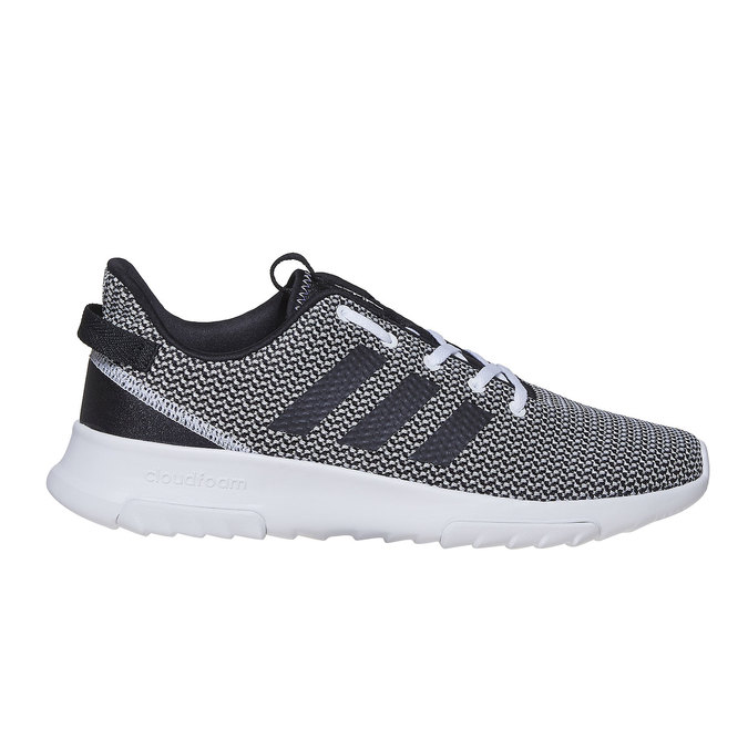 Sneakers in a sport design adidas, black , 809-6201 - 15