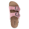 Ladies' leather sandals de-fonseca, pink , 573-5621 - 17