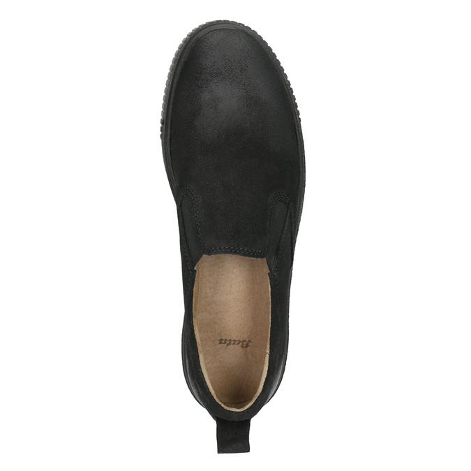 Ladies' Slip-on shoes bata, black , 516-6613 - 26