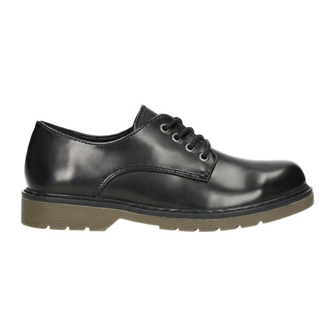 Children's Black Shoes mini-b, black , 311-6186 - 26