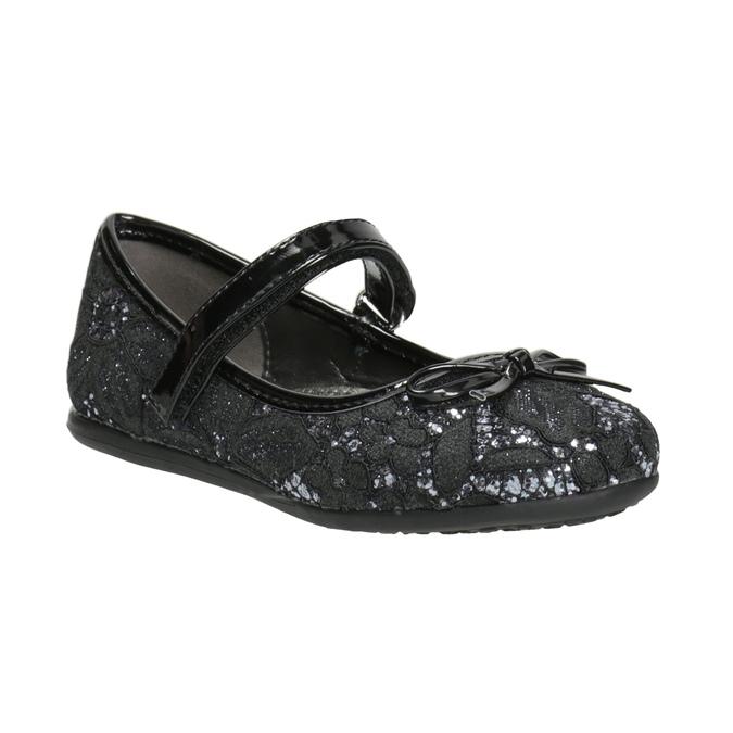 Girls' Ballet Pumps with Lace mini-b, black , 229-6198 - 13