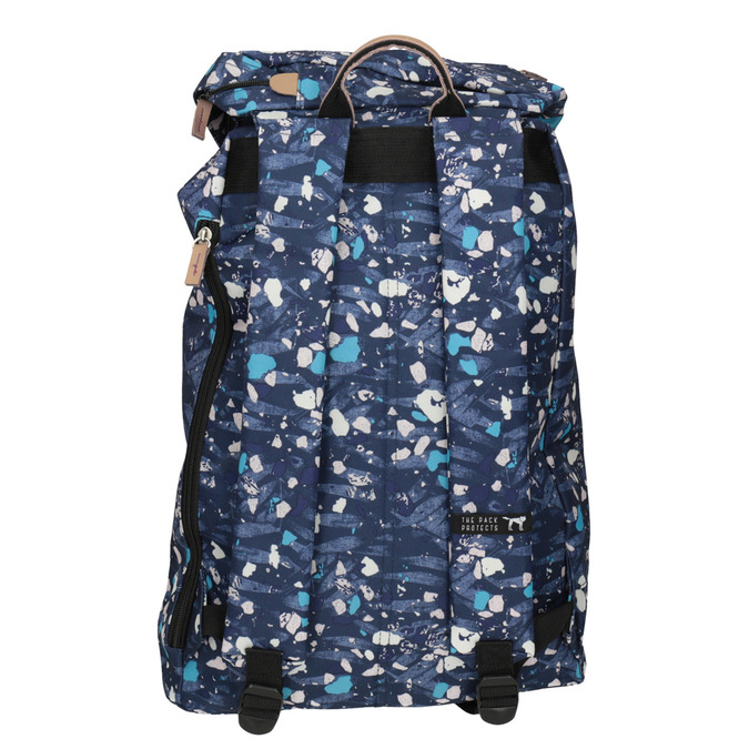 Backpack with Colourful Pattern, blue , 969-9076 - 16