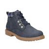 Children's blue winter boots weinbrenner-junior, blue , 411-9607 - 13