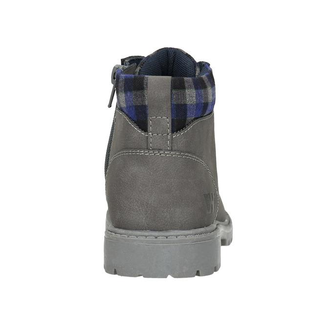 Children's winter ankle boots weinbrenner-junior, gray , 411-2607 - 17