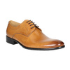 Men's leather Ombré shoes bata, brown , 824-3233 - 13