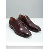 Men's leather Oxford shoes bata, red , 826-5683 - 18