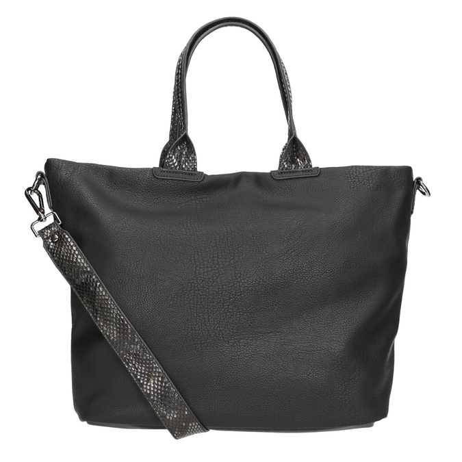 Ladies' Black Handbag gabor-bags, black , 961-6034 - 16