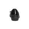 Leather ballerinas with stitching comfit, black , 526-6638 - 17