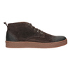 Men's leather ankle boots bata, brown , 846-4653 - 26