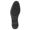 Men's Derby shoes, black , 824-6618 - 19