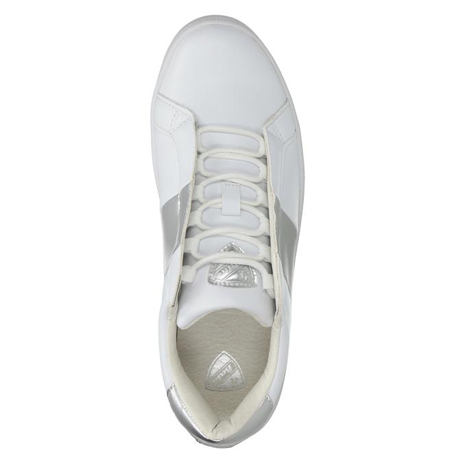 Ladies' White Sneakers, white , 501-1171 - 15