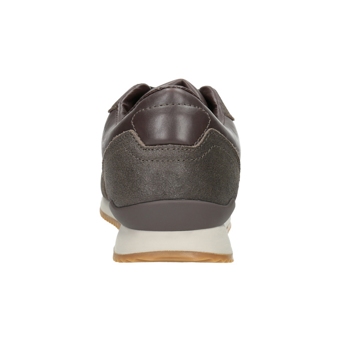 Men's Casual Sneakers, brown , 801-3180 - 16