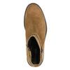 Ladies' leather high boots vagabond, brown , 523-4011 - 26