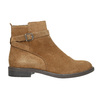 Ladies' leather high boots vagabond, brown , 523-4011 - 15