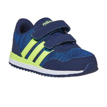 Children's Hook-and-Loop Sneakers adidas, blue , 109-9157 - 13