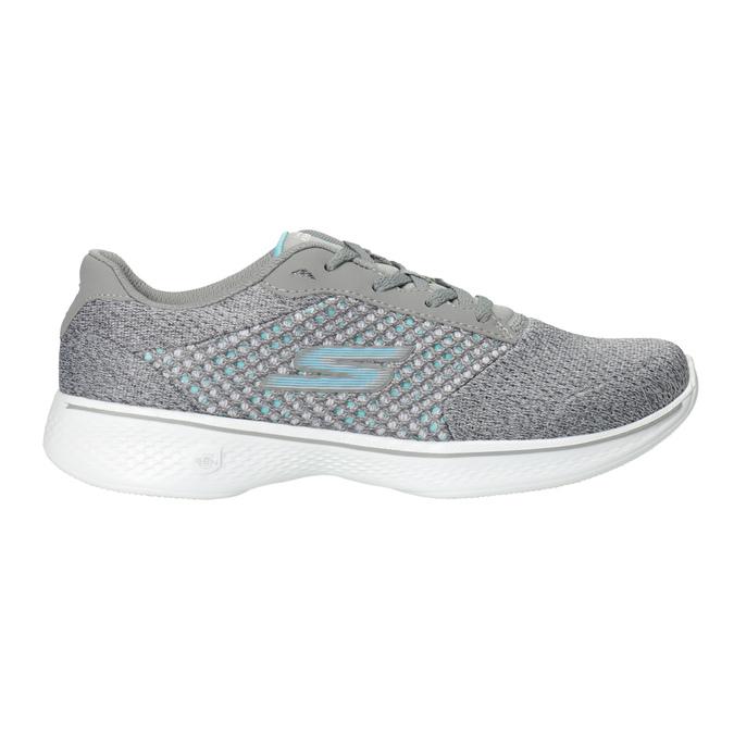 Grey Ladies' Sneakers skechers, gray , 509-2325 - 26