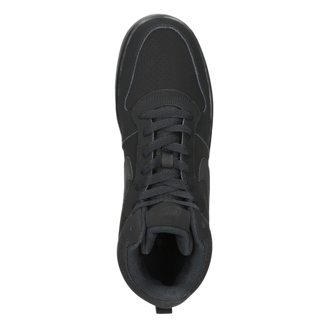 Men's High-Top Sneakers nike, black , 801-6532 - 15