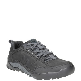 Men's Leather Outdoor-Style Leather Shoes merrell, black , 806-6570 - 13