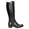 Ladies' leather high boots bata, black , 594-6586 - 15