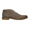 Men's ankle boots with stitching bata, brown , 826-4920 - 26