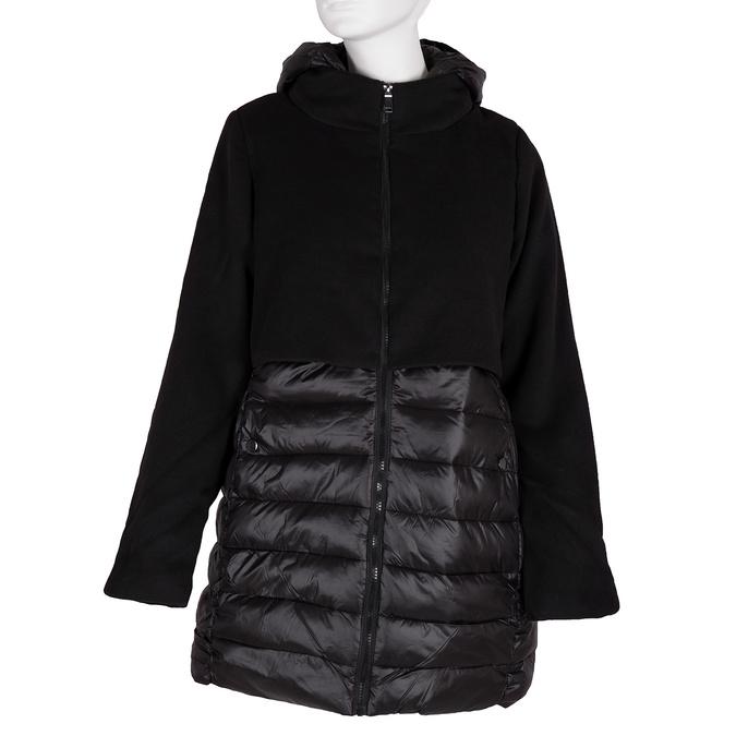 Ladies' hooded jacket bata, black , 979-6163 - 13