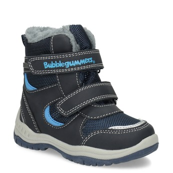 Children's Winter Boots with Fleece bubblegummer, blue , 199-9602 - 13