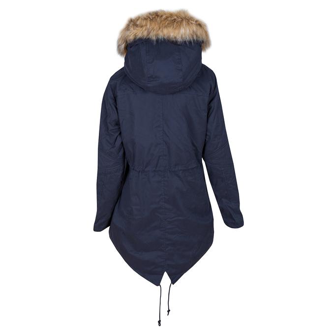 Ladies' Parka with Removable Fur bata, blue , 979-9131 - 26