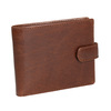 Gift pack with leather belt and wallet bata, brown , 954-4200 - 26