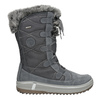 Ladies' winter boots with artificial fur weinbrenner, gray , 593-2616 - 26