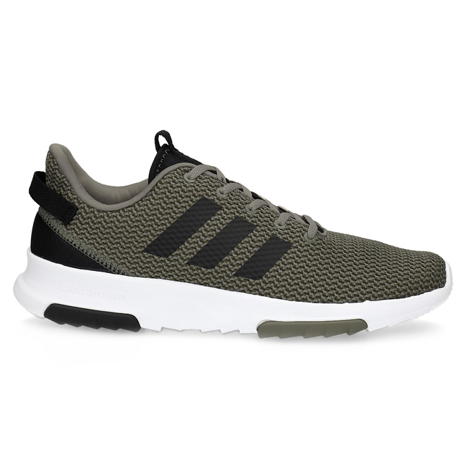 Sneakers in a sport design adidas, khaki, 809-7201 - 19