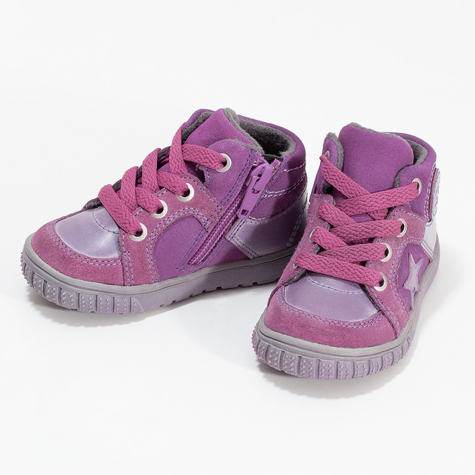 Girls' pink shoes bubblegummer, pink , 123-5601 - 16